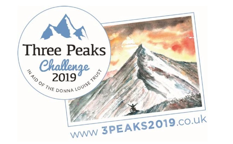 Three Peaks Challenge Donna Louise Children's Hospice